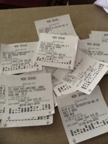 Vegas bets