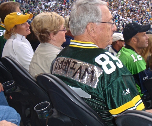 Old School Packer fan since Lombardi's days.