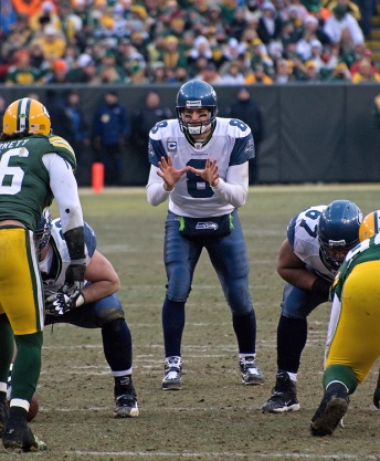 Matt Hasselbeck - CC image courtesy of Mike Morbeck on Flickr