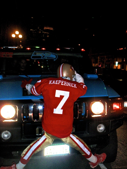 Kaepernick Gets Trucked