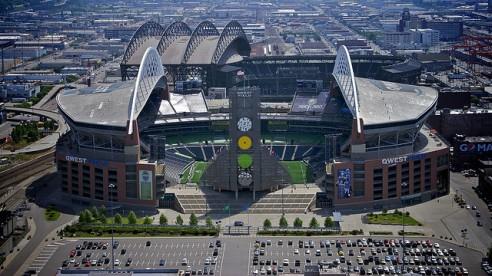 Seahawks Stadium - CC image courtesy of mat79 on Flickr