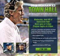 Seahawks 2014 Town Hall Meeting